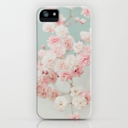 Gypsophila pink blush ll iPhone Case