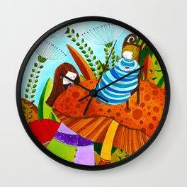 Alice in Wonderland #5 Wall Clock