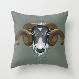 Ram Throw Pillow