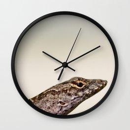 Lizard Friend Wall Clock