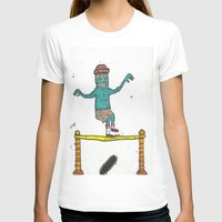hippy T-shirts featuring Hippy Jump by BummerHighs