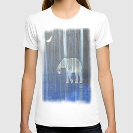 Moonlight with elephant T-shirt