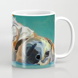 Johnny the Dog Rests Coffee Mug