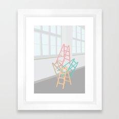 STABLET HØJT Framed Art Print