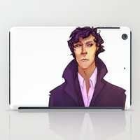 sherlock iPad Cases featuring Sherlock by Nautilus Gifticus