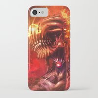 mars iPhone & iPod Cases featuring Mars by Vincent Vernacatola