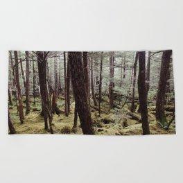 Tree gathering   Nature Photography Beach Towel