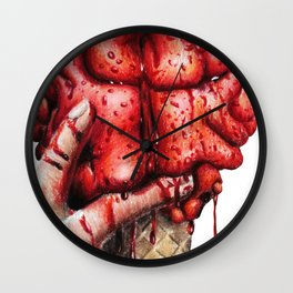 Brain cone Wall Clock