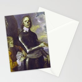 Zombie Oliver Cromwell Stationery Cards
