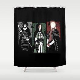 Souls Waifus Shower Curtain