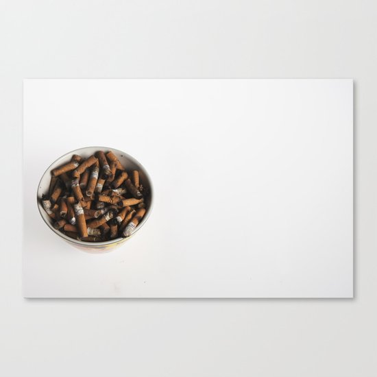 21st century breakfast Canvas Print