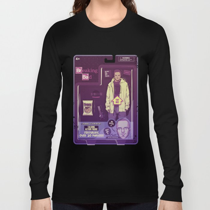BREAKING BAD ACTION FIGURES - Jesse Long Sleeve T-shirt