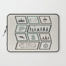 Camping [Color] Laptop Sleeve