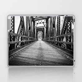 Old Train Bridge Bath, NH Laptop & iPad Skin