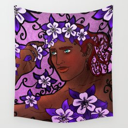 Flower Prince Wall Tapestry