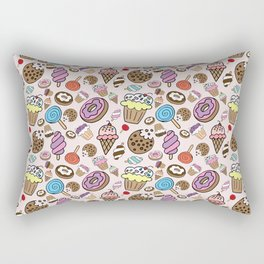 Desserts and Sweets Rectangular Pillow