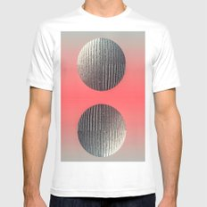 Spheres Mens Fitted Tee MEDIUM White