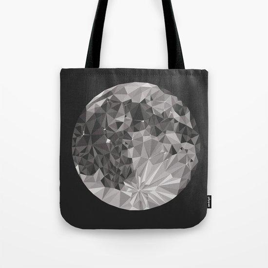 Abstract Full Moon Tote Bag