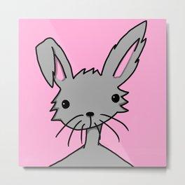 Bunnybutt Bitch | Veronica Nagorny Metal Print