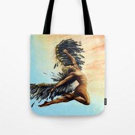 Season of the Legend - Icarus Descending Tote Bag