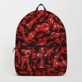Bloody chess Backpack