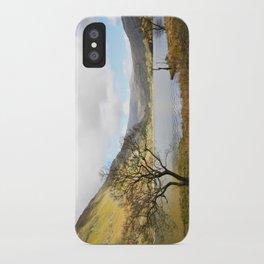 Cregennen Lake, Snowdonia iPhone Case