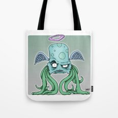 Space Alien Sci Fi art by RonkyTonk Tote Bag