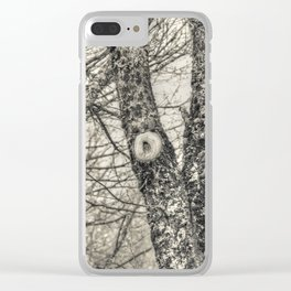 Young oaks Clear iPhone Case
