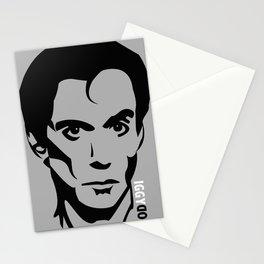 Iggy Pop/dog/god Stationery Cards