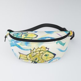 Funny fishes Fanny Pack