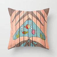 Save Water! Throw Pillow
