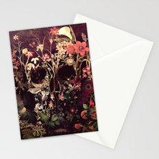 Bloom Skull Stationery Cards