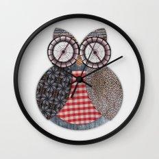 OWL #4 Wall Clock