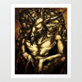 HORNED GOD Art Print