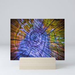 Nature's Tye Dye Mini Art Print