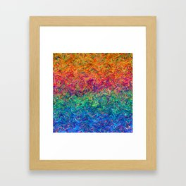 Fluid Colors G249 Framed Art Print