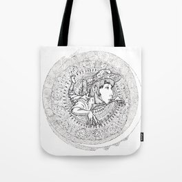 mandala005 Tote Bag