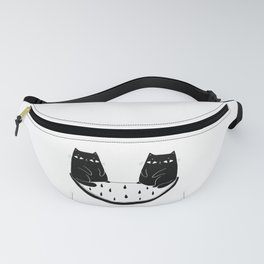 Cats in perfect balance Fanny Pack