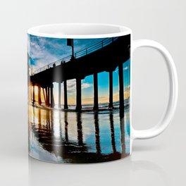 Surf City Sunset Surfer  1/25/15 Coffee Mug