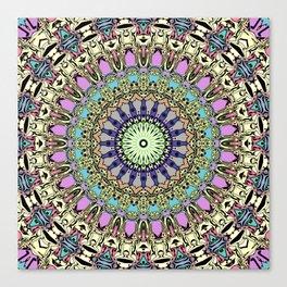 Ornate Kaleidoscope Symmetry Canvas Print