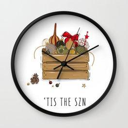 Tis the SZN Wall Clock
