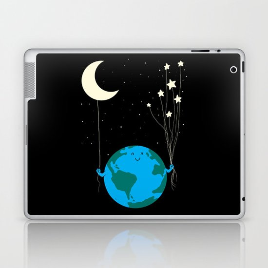 Under the moon and stars Laptop & iPad Skin