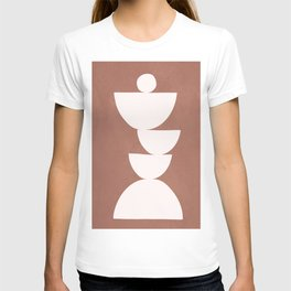 Abstract Balancing Shapes I T-shirt
