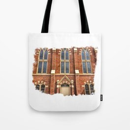 First Lutheran Church Windows in Moline, Illinois Tote Bag