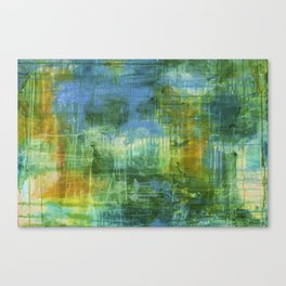 One day at a time - Abstract - Painting Canvas Print