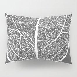 Leaf in Grey Pillow Sham