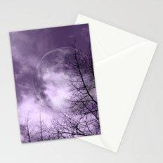 Purple Night  - JUSTART © Stationery Cards