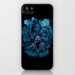 Sundered and Undone iPhone Case
