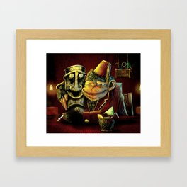 Last Call At Tikilandia Framed Art Print