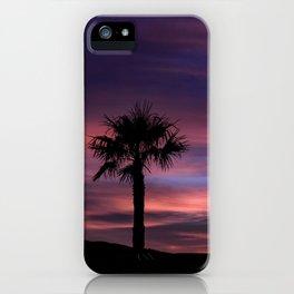 Palm Sunset - 8 iPhone Case